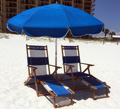 Beach Equipment Rentals - Chair Set Rental