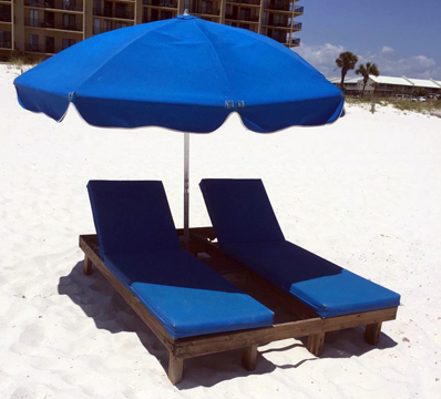 Beach Equipment Rentals - Lounger Set Rental