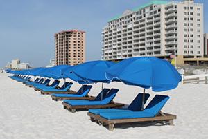 Ike's Beach Service beach chair rentals