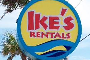 Ikes Beach Service beach equipment rentals